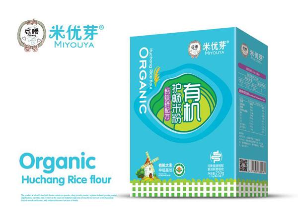 有机护畅米粉—钙铁锌配方