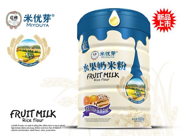 果蔬多维+五谷杂粮—水果奶米粉
