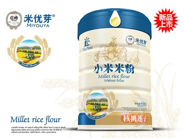核桃莲子—小米米粉