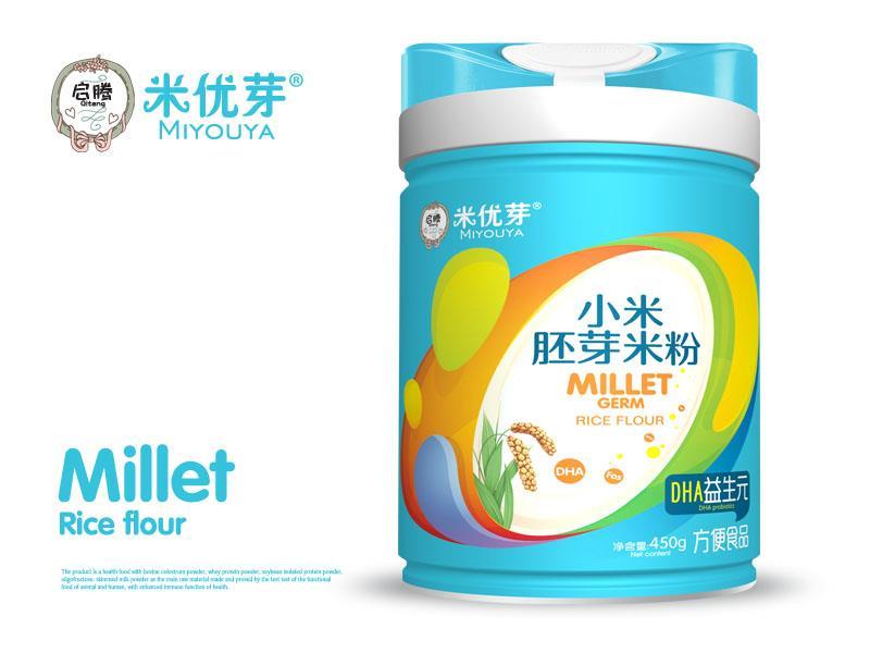 DHA益生元小米胚芽米粉