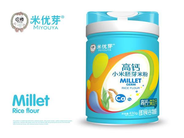高钙小米胚芽米粉