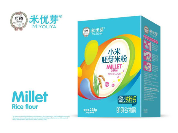 强化铁锌钙小米胚芽米粉